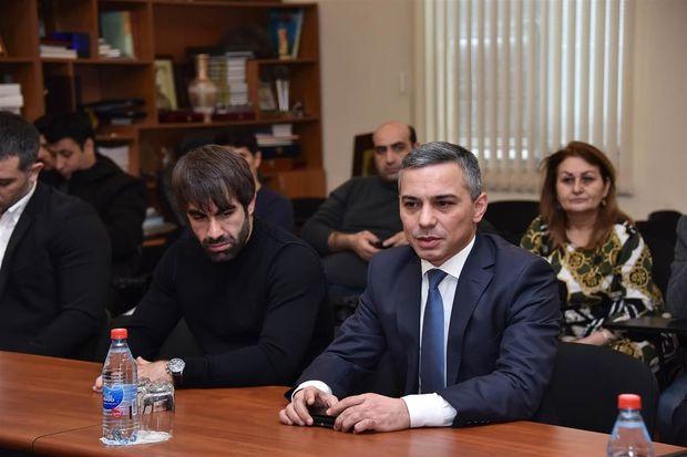 Azərbaycan Karate Federasiyasında baş məşqçi təyinatı olub
