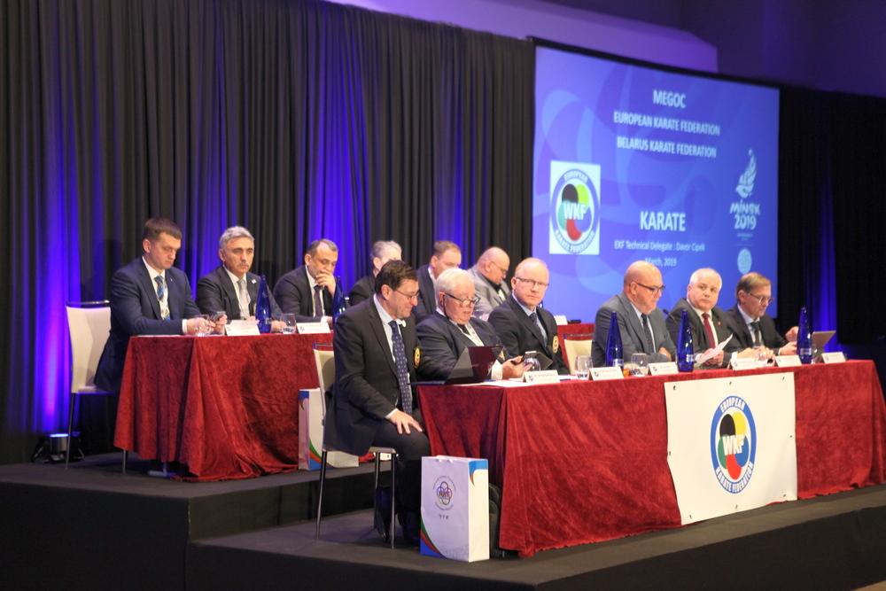 AMKF prezidenti Avropa Karate Federasiyasının Konqresində çıxış edib