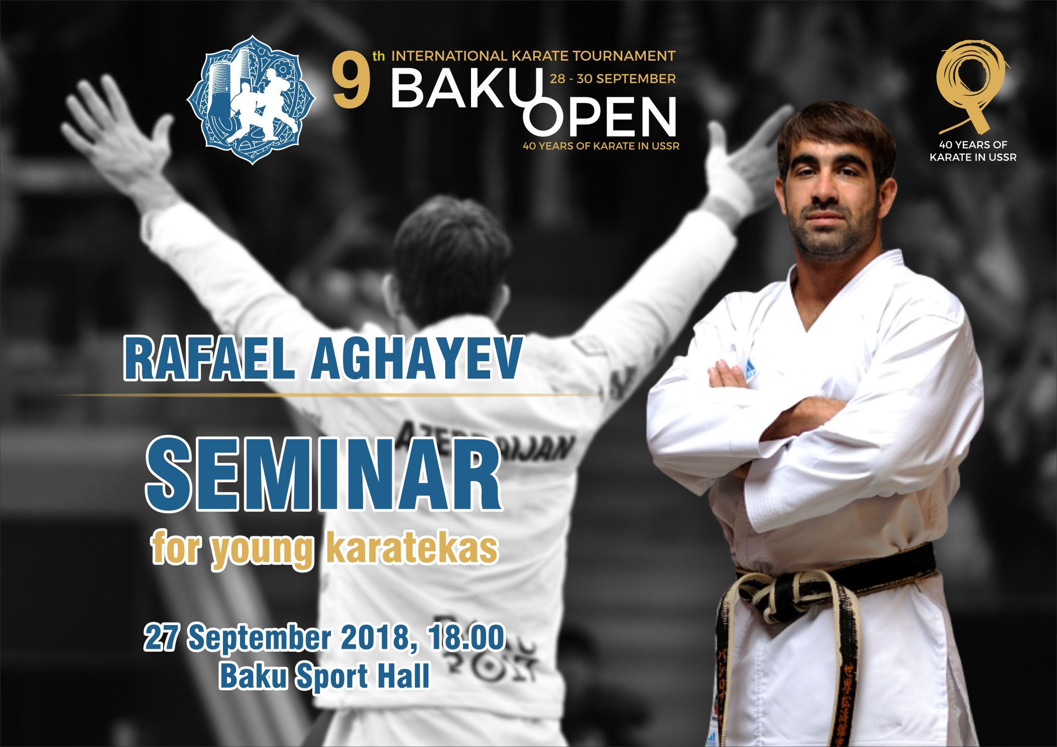 Rafael Ağayevin seminarı təşkil ediləcək